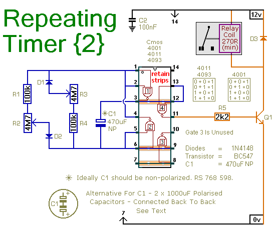 Electronic Timer Circuit Diagram Timer Control Circuit Diagram Timer