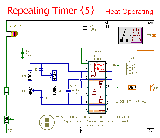 A Repeating-Timer That Only Operates While The Temperature Is Above A Preset Level