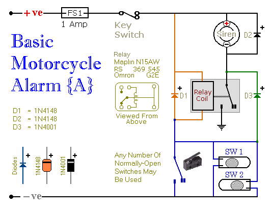 Alarm No.5 - Schematic Diagram
