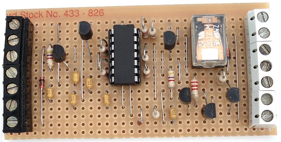 A Photograph Of Ron J's Universal  Keypad Controlled Switch - Circuit Board
