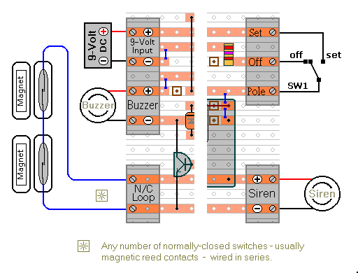 Connecting External Devices  To The Enhanced Alarm