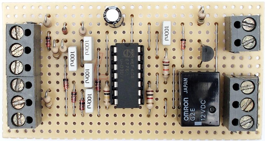 A Photo Of Ron J's  Parallel Keypad Circuit