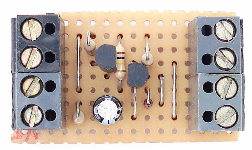 A Photo Of Ron J's   Transistor Based     ''Door Alarm {A}''