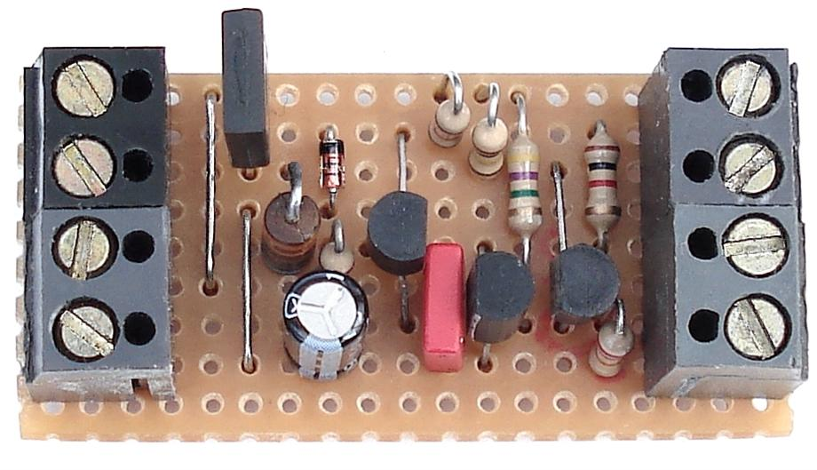 A Photo Of Ron J's   Transistor Based     ''Door Alarm {D}''